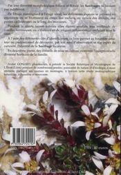 Saxifragacées. flore pratique adaptée à la france. utilisation des espèces horticoles et ornementales - 4ème de couverture - Format classique