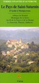 Le pays de Saint-Saturnin - Intérieur - Format classique