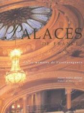 Palaces de france - Couverture - Format classique