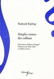 Simples contes des collines - Couverture - Format classique