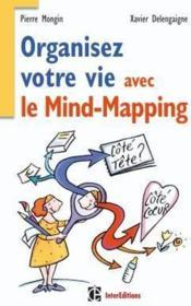 Organiser votre vie avec le mind-mapping - Couverture - Format classique