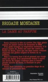 Brigade mondaine t.267 ; la dame au parfum - 4ème de couverture - Format classique