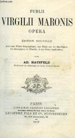 Publii Virgilii Maronis Opera - Couverture - Format classique