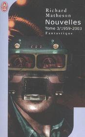 Nouvelles - vol03 - l'integrale - 1959-2003 - Intérieur - Format classique