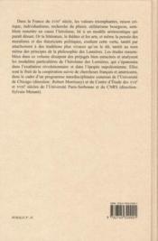 Héroïsme et Lumières - 4ème de couverture - Format classique