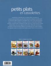 Petits plats cassolettes ; 70 recettes de cuisine gourmandes, faciles à réaliser - 4ème de couverture - Format classique