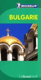 Le Guide Vert ; Bulgarie - Couverture - Format classique
