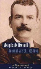 Journal secret, 1886-1889 - Couverture - Format classique