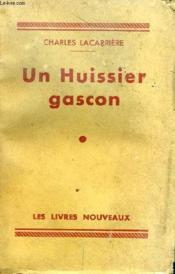 Un Huissier Gascon - Couverture - Format classique