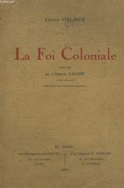 La Foi Coloniale - Couverture - Format classique