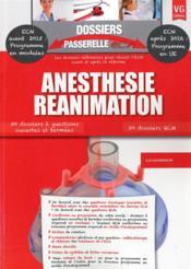 Dossiers Passerelle Ecn Anesthesie Reanimation - Couverture - Format classique