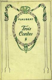 Trois contes. - Couverture - Format classique