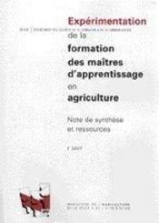 Expérimentation de la formation des maîtres d'apprentissage en agriculture - Intérieur - Format classique