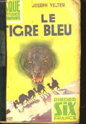 Le Tigre Bleu - Couverture - Format classique