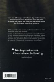 Indulgences - 4ème de couverture - Format classique