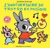 L'anniversaire de Trotro en musique - Couverture - Format classique