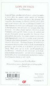 La dorotea - 4ème de couverture - Format classique