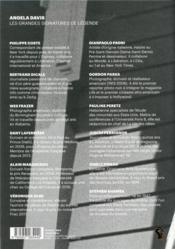 Légende N.2 ; Angela Davis - 4ème de couverture - Format classique
