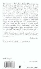 La Menace Mercure - 4ème de couverture - Format classique