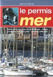 Le Permis Mer - Intérieur - Format classique