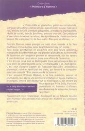 Boulevard de la flibuste - 4ème de couverture - Format classique