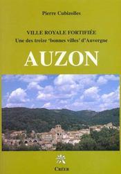 Auzon ville royale fortifiee - Intérieur - Format classique
