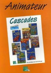Cascades animateur - Couverture - Format classique