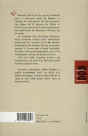 Chemins de croix - 4ème de couverture - Format classique