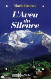 Aveu Du Silence - Couverture - Format classique