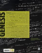 Manuscrits recherche invention - 4ème de couverture - Format classique