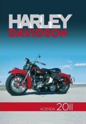 L'agenda passion Harley Davidson 2011 - Couverture - Format classique