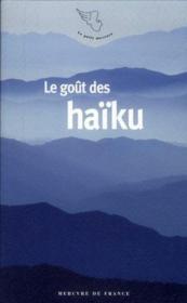 Le Gout Des Haiku - Couverture - Format classique