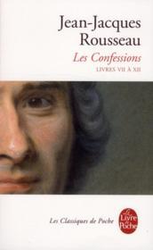 Les confessions t.2 (édition 2012) - Couverture - Format classique