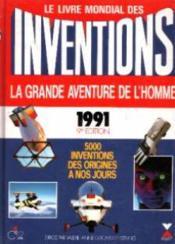 Livre Mondial Des Inventions 1990 - Couverture - Format classique