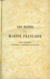 LES FASTES DE LA MARINE FRANCAISE. MARINE MARCHANDE 1ere SERIE - Couverture - Format classique