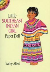 Little Southeast Indian Girl Paper Doll - Couverture - Format classique