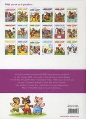 Mini-Loup au carnaval - 4ème de couverture - Format classique