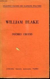 Poemes Choisis - Couverture - Format classique