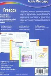 Freebox - 4ème de couverture - Format classique