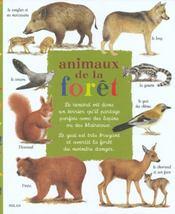 Les animaux de la foret - Intérieur - Format classique