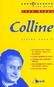 Colline, de Jean Giono - Intérieur - Format classique