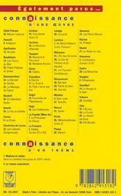 Colline, de Jean Giono - 4ème de couverture - Format classique
