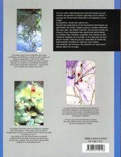 L'aquarelle, la nature et ses détails - 4ème de couverture - Format classique