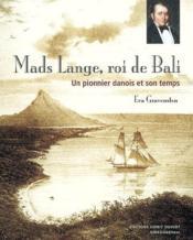 Mads Lange, roi de Bali - Couverture - Format classique