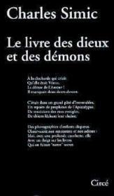 Le livre des dieux et des demons - Couverture - Format classique