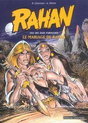 Rahan T.1 ; le mariage de Rahan - Intérieur - Format classique