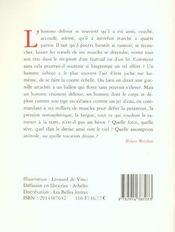 A Corps Perdu - 4ème de couverture - Format classique