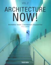 Architecture now vol. 2-trilingue - Couverture - Format classique