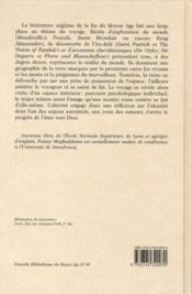 Géographies du monde, géographie de l'âme ; le voyage dans la littérature anglaise de la fin du Moyen-âge - 4ème de couverture - Format classique