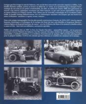 Salmson, la belle mécanique francaise - 4ème de couverture - Format classique